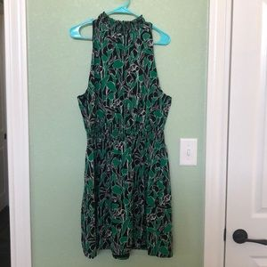 A New Day green and black dress size XL